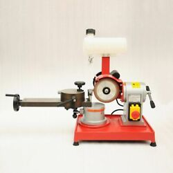 Asg 110v Circular Saw Blade Mill Sharpening Water Injection Grinder Machine New