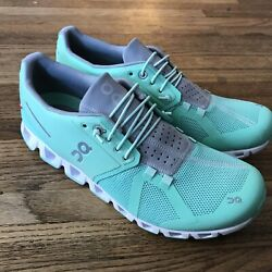 On Running Cloud Womenand039s Mint Shoes Sz 11