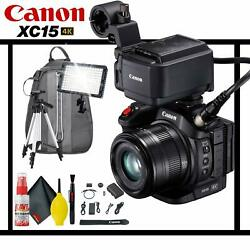 Canon Xc15 4k Camcorder Standard Accessory Kit