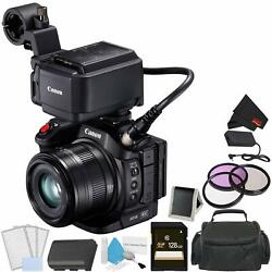 Canon Xc15 4k Professional Camcorder Bundle With 128gb Memory Card + Carrying