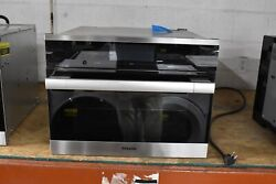Miele DGC67001 24quot; Stainless Single Electric Wall Steam Oven NOB #45126