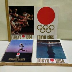 Tokyo Olympic1964 A Collection Of A4 Posters From Around The World From Japan