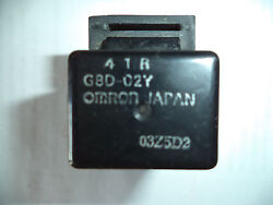 4 - Pin Omron Relay 41r G8d-02y For Yamaha 4 1 R - Very Good