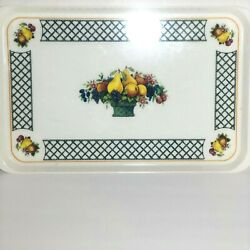 Villeroy And Boch Basket Pattern Large Melamine Acrylic Serving Tray Made In Italy