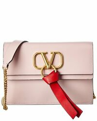 Valentino Vlogo Small Leather Crossbody Women#x27;s $1069.99