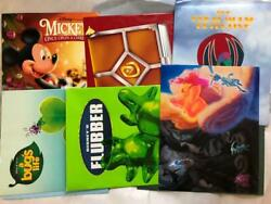 Lot Of 12 Misc Disney Lithograph Art Prints In Folders 12 Prints Total Good Cond