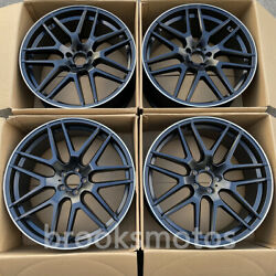 21 New 7 Y Soke Style Wheels Rims Fits For Mercedes Benz Gt 4 X290 21x10 21x11