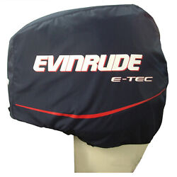 Johnson Evinrude Omc New Oem Outboard Motor Blue Cloth Storage Cover 0763639