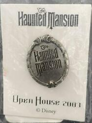 Disney Pin - Haunted Mansion Movie Plaque - Open House Sdcc Still Sealed