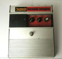 Systech Harmonic Energizer Filter Distortion Effects Pedal Vintage And Rare
