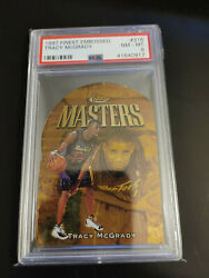 1997 Tracy Mcgrady Psa 8 Nm-mt Finest Gold Embossed Rookie Card 316
