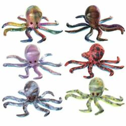 Collectable Octopus Medium Design Sand Animal Toy Party Bag Filler Stress Relief