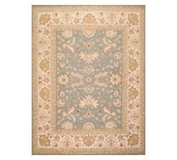 8and039 X 9and03910and039and039 Nourison Nourmak Hand Knotted 100 Wool Kashaan Area Rug Slate