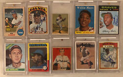 Selling My Dadandrsquos Vintage Autograph Collection - All Hall Of Famers Rare Look