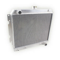 3-row Aluminum Radiator For 1968-1972 Dodge Charger Coronet Charger 22 Core