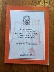 Christie's Auction Catalogue Fine Model Steam Engines Ships And More 25 July 1983