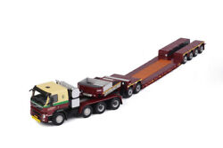 For Volvo Fm3 Low Sleeper Cab Tractor Trailer 1/50 Diecast Model Car Truck