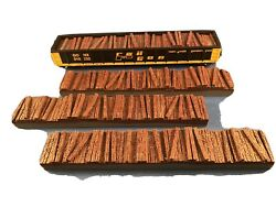 Ho Qty 3 Railroad Tie Load For Walthers 53' Railgon Gondola - Painted