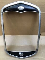 1931 Model A Ford Radiator Shell Grill Grille Original Roadster Coupe 31 Trog 2