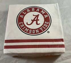 Alabama Crimson Tide Ncaa College Football Sports Party Paper Luncheon Napkins