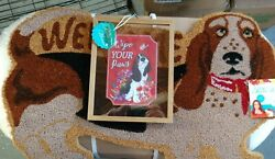 The Pioneer Woman Charlie Doormat And Wipe Your Paws Acrylic Sign