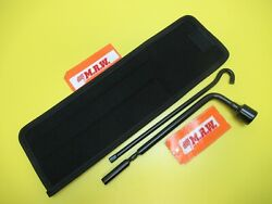 Spare Tire Lug Wrench Case Jack Tool Kit 13/16 Inch 21mm Socket For Genesis
