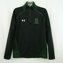 Under Armour Loose Mens Michigan State Spartans Shirt 1/4 Zip Pullover Size M Ua