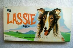 Rare/vintage 1965 Lassie Tv Show Board Game By T. Cohn - Complete, Ex/nm Cond.