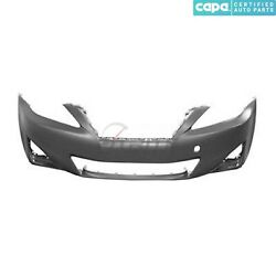New Front Bumper Cover Primed Fits Lexus Is250 2011-2013 Lx1000212c Capa