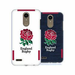 Official England Rugby Union 2020/21 Crest Kit Hard Back Case For Lg Phones 1