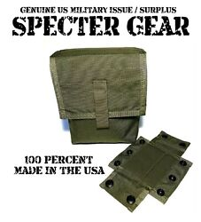 Specter Gear 427-v Od Molle 200 Rnd Saw Utility Pouch Linked Ammo Us Military