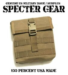 Specter Gear 427 Coyote Usmc Molle 200 Rnd Saw Utility Pouch Ammo Us Military