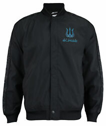Call Of Duty Menand039s Seattle Surge Team Kit Bomber Jacket Black