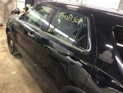 13 14 Ford Explorer Driver Rear Side Door Electric Green Tinted Glass Black