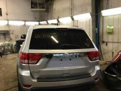11 12 13 Jeep Grand Cherokee Trunk/hatch/tailgate W/o Rear View Camera Silver