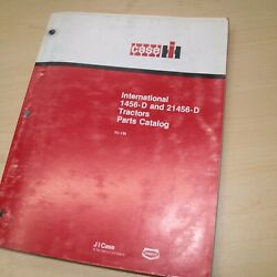 Ih International Case 1456-d 21456 Tractor Parts Manual Book Spare Catalog List