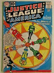 Dc Comics - Justice League Of America - Issue 6 - 1961 - 1st Amos Fortune