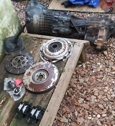 Chevy 4 Spd Manual Transmission And Fuel Injection W/ Intake Manifold, Fuel Pump