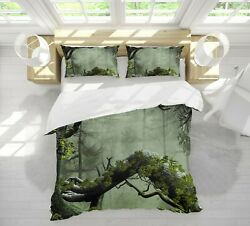 3d Branch Tree Trunk Nao963 Bed Pillowcases Quilt Duvet Cover Set Queen King Fay