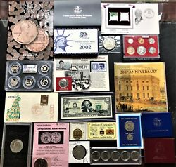 Collection Of Coins, Currency, Collectible Sets Silver, Gold, Proof/mint Coin 5
