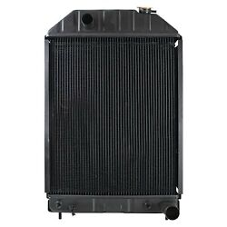 New Radiator For Ford New Holland 755b Indust/const E9nn8005ba