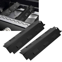2x Stainless Steel Gas Grill Replacement Heat Plate Bbq Heat Tent For Charbroil