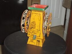 Antique Tin Toy Sand Fantasy Double Ferris Wheel In Very Good Condition, Rare...