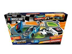 Crash Racer Figure 8 Circuit 16 Feet Of Double-wide Tracks Snap Car Racing Track