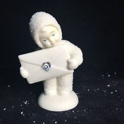 """Snowbabies Dept56 Extra Special Delivery 3"""" Winter Tales New/old Stock In Box"""