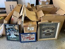 Bar Mirror Signs Advertising New Old Stock 20 To 30 Years Old, 50 Plus Mirrors