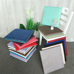 Basics Indoor/outdoor Square Seat Patio Cushion Kitchen Dining Chair Cushion
