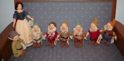 R. John Wright Snow White And The Seven Dwarfs Complete Set
