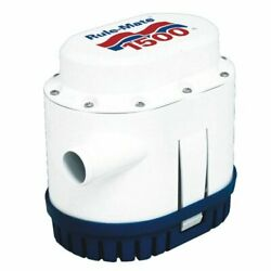 Rule-mate Rm1500a Automated Bilge Pump No Float Switch Required 1500 Gph 12 Volt