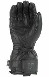 Highway 21 Radiant Gloves Heated Leather Motorcycle Gauntlets For Men 100 Gra...